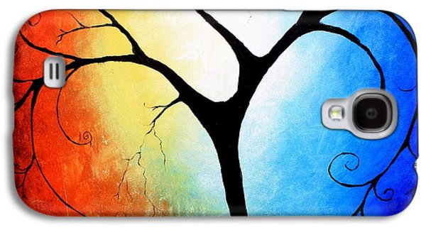 Tree Print Mixed Media Galaxy S4 Cases - Beautifully Broken Galaxy S4 Case by Mike Grubb