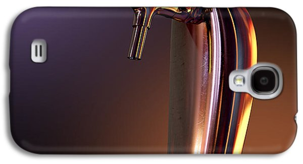 Machinery Galaxy S4 Cases - Beer Tap Single Moody Galaxy S4 Case by Allan Swart