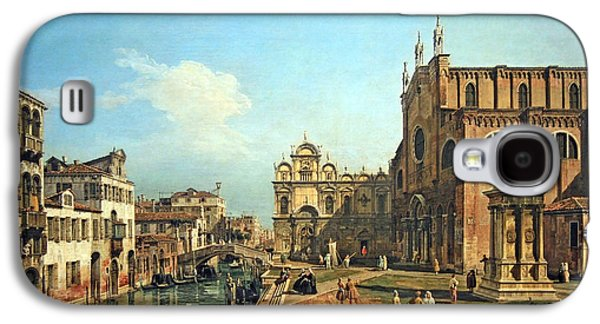 Cora Wandel Galaxy S4 Cases - Bellottos The Campo Di SS. Giovanni E Paolo In Venice Galaxy S4 Case by Cora Wandel