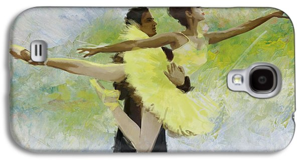 Ballet Dancers Paintings Galaxy S4 Cases - Belly Dancers Galaxy S4 Case by Corporate Art Task Force