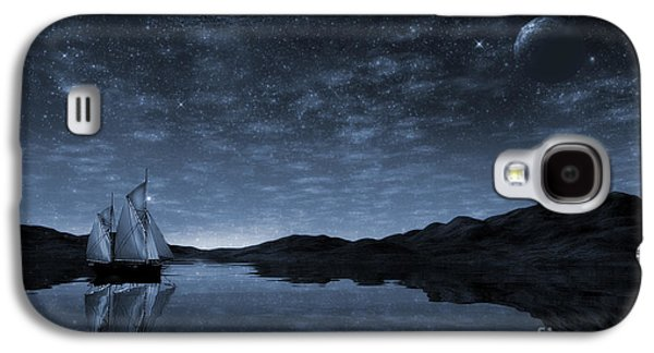 Beneath A Jewelled Sky Galaxy S4 Case by John Edwards