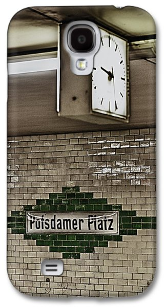 Bahn Galaxy S4 Cases - Berlin Subway Station Galaxy S4 Case by Hans Engbers