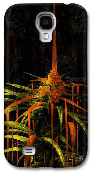 Dunk Mixed Media Galaxy S4 Cases - BHOney Kola Galaxy S4 Case by Teddy Maritopia