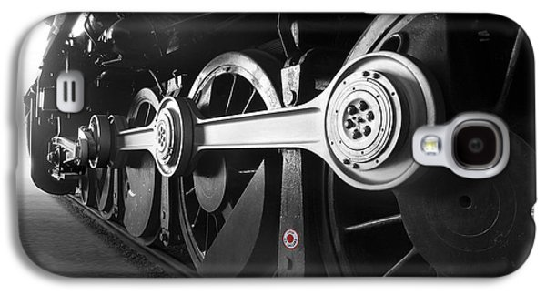 Smoke Digital Galaxy S4 Cases - Big Wheels Galaxy S4 Case by Mike McGlothlen