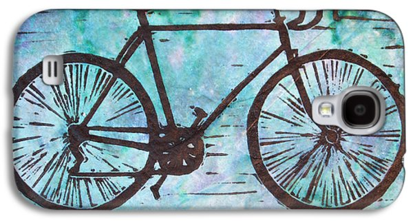 Bike 8 Galaxy S4 Case by William Cauthern