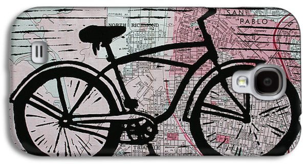 Ten Speed Drawings Galaxy S4 Cases - Bike 9 Galaxy S4 Case by William Cauthern