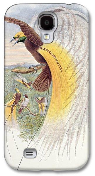 Harts Galaxy S4 Cases - Bird of Paradise Galaxy S4 Case by John Gould
