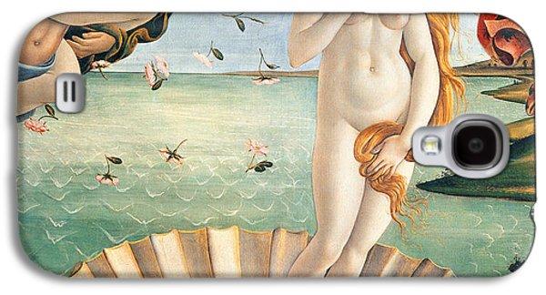 Recently Sold -  - Angel Mermaids Ocean Galaxy S4 Cases - Birth of Venus Galaxy S4 Case by Sandro Botticelli