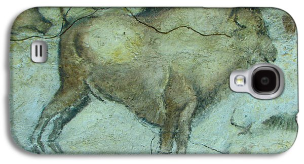 Bison Digital Art Galaxy S4 Cases - Bison Buffalo Galaxy S4 Case by Unknown