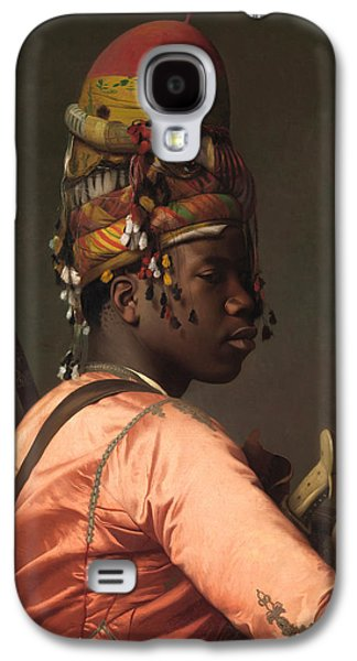 Gerome Galaxy S4 Cases - Black Bashi-Bazouk Galaxy S4 Case by Jean-Leon Gerome