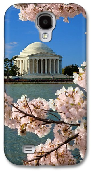 Blossoming Cherry Trees Along The Tidal Galaxy S4 Case by Brian Jannsen