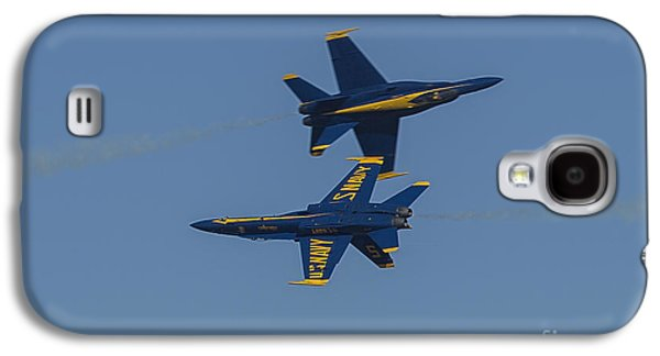 Jet Star Galaxy S4 Cases - Blue Angels Close Quarters Galaxy S4 Case by D Wallace