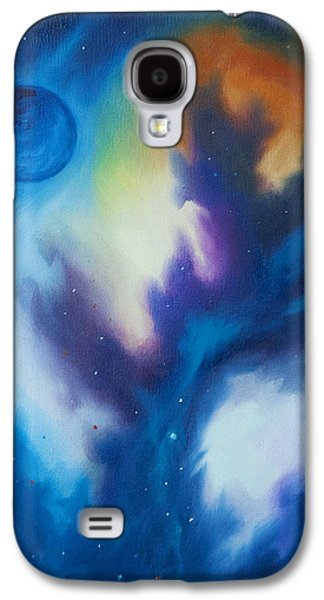 Stellar Paintings Galaxy S4 Cases - Blue Giant Galaxy S4 Case by James Christopher Hill