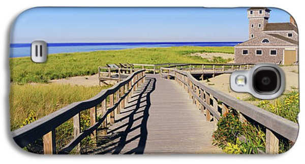 Boardwalk Leading Towards Old Harbor Galaxy S4 Case by Panoramic Images