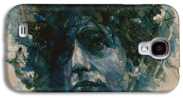 Bob Paintings Galaxy S4 Cases - Bob Dylan Galaxy S4 Case by Paul Lovering