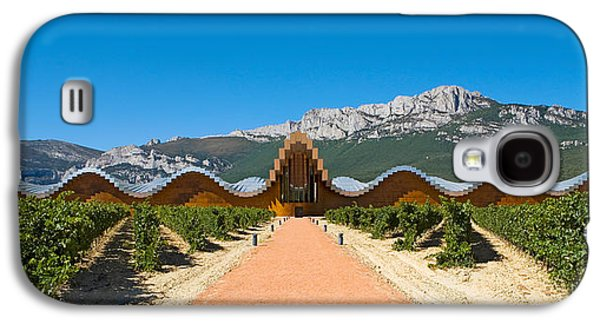 Winery Photography Galaxy S4 Cases - Bodegas Ysios Winery Building Galaxy S4 Case by Panoramic Images