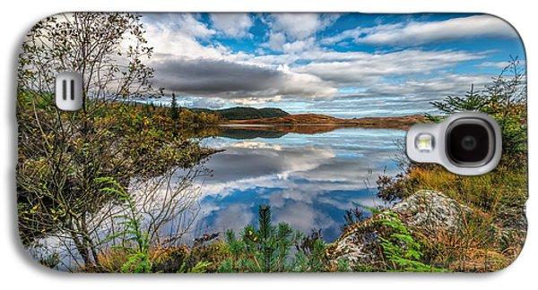 Waterscape Digital Galaxy S4 Cases - Bodgynydd Lake Galaxy S4 Case by Adrian Evans