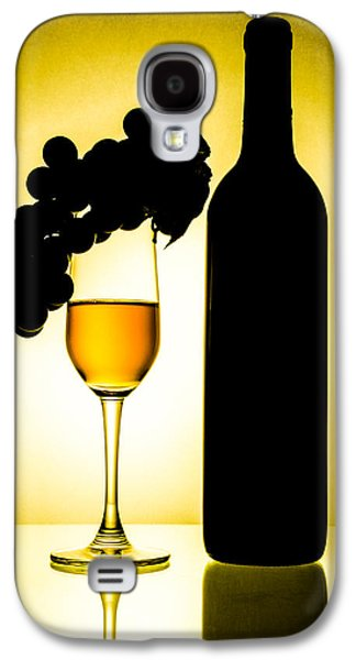 Designs Ceramics Galaxy S4 Cases - Bottle and wine glass Galaxy S4 Case by Sirapol Siricharattakul