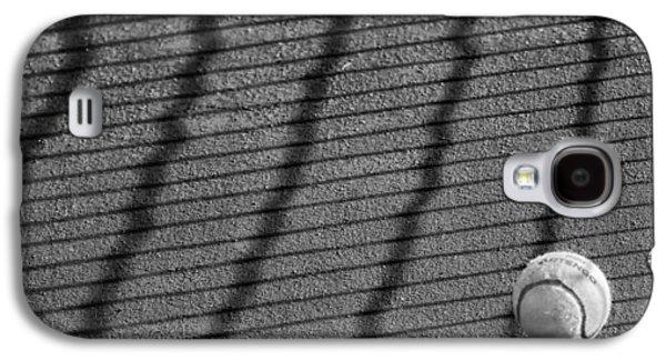 Tennis Photographs Galaxy S4 Cases - Bouncing Tennis Ball Galaxy S4 Case by Mountain Dreams