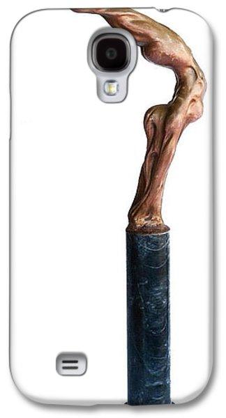 Sports Sculptures Galaxy S4 Cases - Bow Galaxy S4 Case by Ivan Tirado