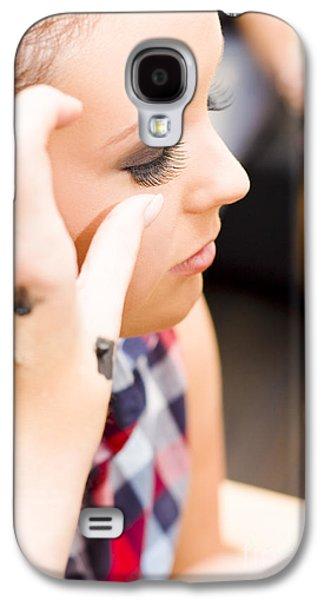 Bridal Eyelashes Galaxy S4 Case by Jorgo Photography - Wall Art Gallery