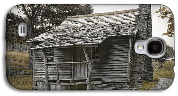 Pioneer Scene Galaxy S4 Cases - Brinegar Cabin in the Blue Ridge Parkway Galaxy S4 Case by Randall Nyhof