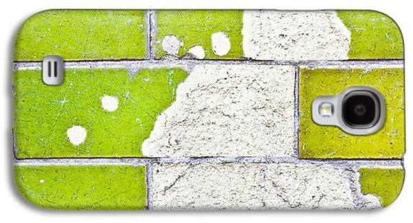 Torn Galaxy S4 Cases - Broken tiles Galaxy S4 Case by Tom Gowanlock