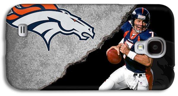 Broncos John Elway Galaxy S4 Case by Joe Hamilton