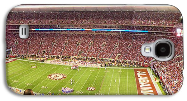 Crimson Tide Galaxy S4 Cases - Bryant Denny Stadium Galaxy S4 Case by Nomad Art And  Design