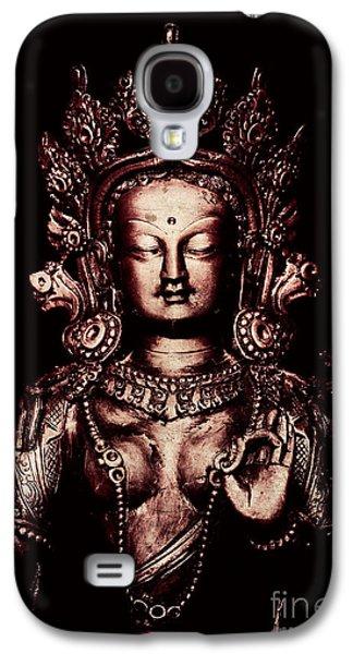 Spiritualism Galaxy S4 Cases - Buddhist Tara Deity Galaxy S4 Case by Tim Gainey