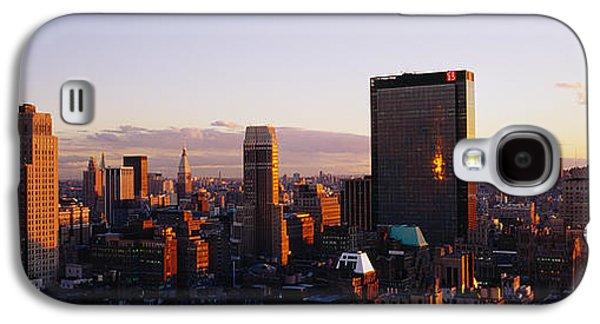 Business Galaxy S4 Cases - Buildings In A City, Manhattan, New Galaxy S4 Case by Panoramic Images