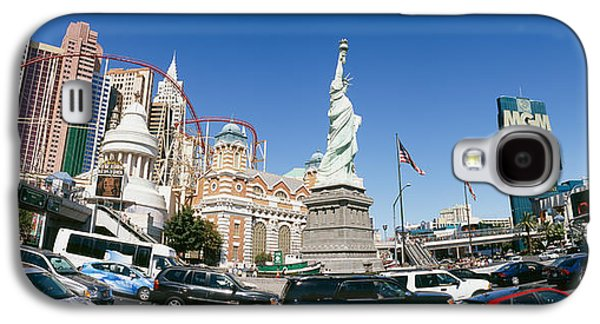 Buildings In A City, New York New York Galaxy S4 Case by Panoramic Images