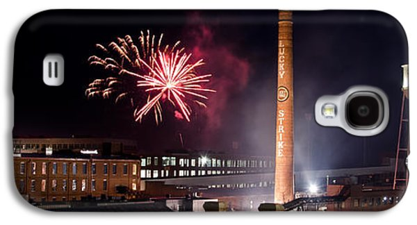 4th July Galaxy S4 Cases - Bull Durham Fireworks Galaxy S4 Case by Jh Photos