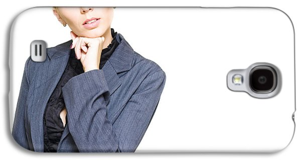 Contemplative Photographs Galaxy S4 Cases - Business Idea Galaxy S4 Case by Ryan Jorgensen