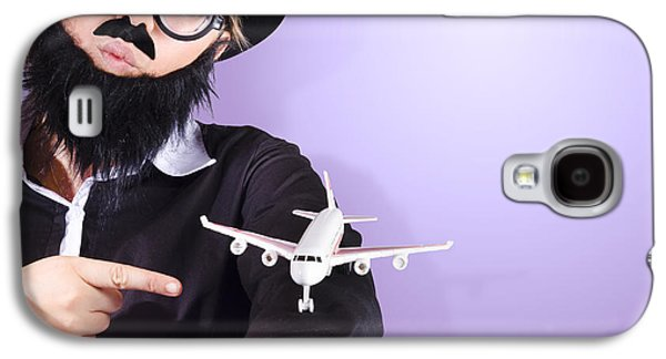Businessman Travelling Business Class Galaxy S4 Case by Jorgo Photography - Wall Art Gallery