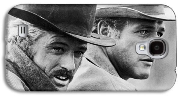 Butch Cassidy And The Sundance Kid Galaxy S4 Case by Georgia Fowler