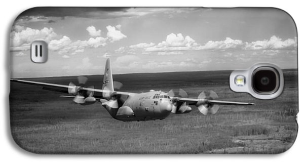 Recently Sold -  - Landscapes Photographs Galaxy S4 Cases - C-130 Hercules over Canada Galaxy S4 Case by Mountain Dreams