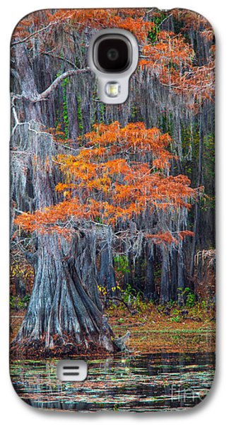 Caddo Lake Fall Galaxy S4 Case by Inge Johnsson