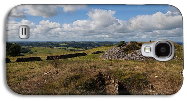 Farmscape Galaxy S4 Cases - Cairn D On Carbane West, Loughcrew Galaxy S4 Case by Panoramic Images