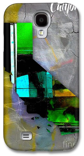 California Galaxy S4 Cases - California Map Watercolor Galaxy S4 Case by Marvin Blaine