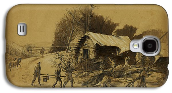 The General Lee Drawings Galaxy S4 Cases - Camp near Matawoman Galaxy S4 Case by Celestial Images