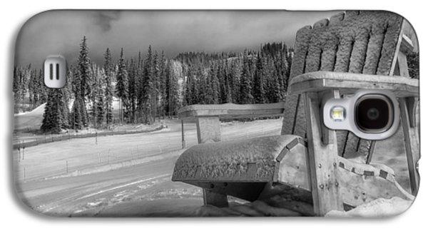 Ground Level Galaxy S4 Cases - Canadas Winter Wonderland Galaxy S4 Case by Mountain Dreams