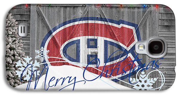 Montreal Canadiens Galaxy S4 Cases - Canadiens Galaxy S4 Case by Joe Hamilton