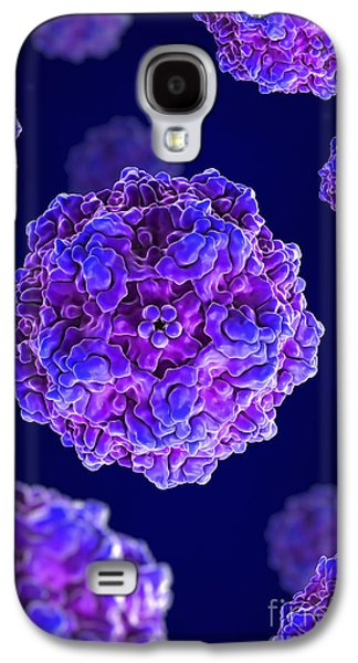 Pathogenic Galaxy S4 Cases - Canine Parvovirus Galaxy S4 Case by Science Picture Co