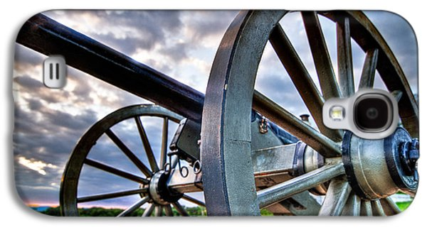Cannon Over Gettysburg Galaxy S4 Case by Andres Leon