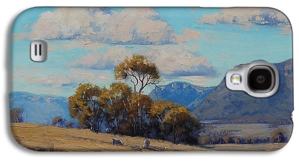 Shed Galaxy S4 Cases - Capertee Valley Australia Galaxy S4 Case by Graham Gercken