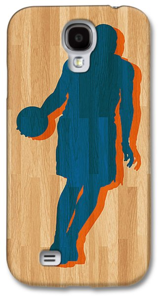 Dunk Galaxy S4 Cases - Carmelo Anthony New York Knicks Galaxy S4 Case by Joe Hamilton