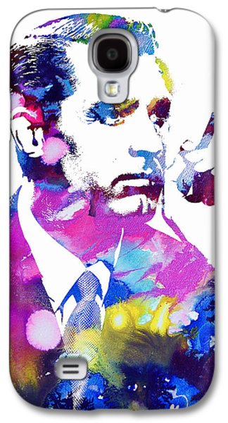 Films By Alfred Hitchcock Galaxy S4 Cases - Cary Grant Galaxy S4 Case by Michael Braham