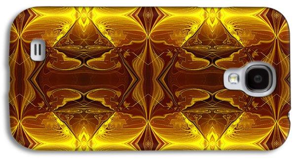 Youthful Digital Art Galaxy S4 Cases - Casanova Galaxy S4 Case by Georgiana Romanovna