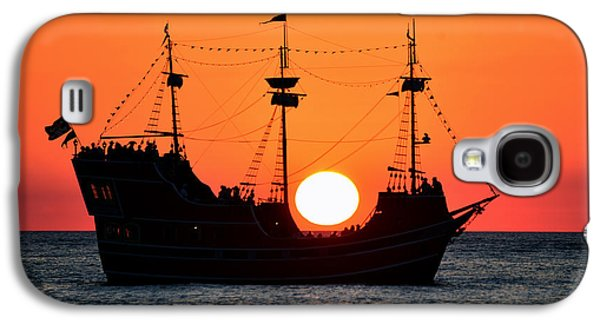 Pirate Ship Galaxy S4 Cases - Catching the sun Galaxy S4 Case by David Lee Thompson